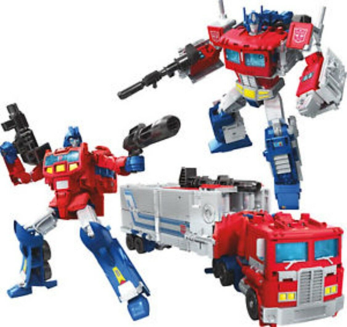 Transformers Power of the Primes Leader Class Optimus Prime Hasbro Orion Pax USA