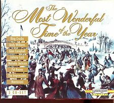 The Most Wonderful Time Of The Year / Glen Campbell - Mantovani - 3CD Box Set