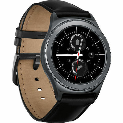 Samsung Gear S2 Classic R7320 Bluetooth Smartwatch (Black) ggx