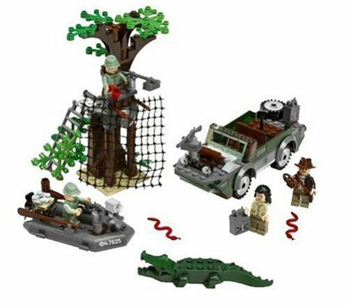 Lego  LEGO  Indiana Jones River Chase 7625