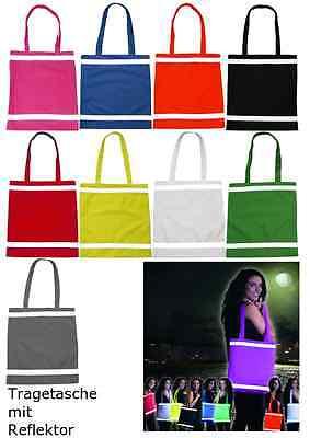 Einkaufstasche Tragetasche Shopping bag Tasche Reflektor Kinder Schultasche