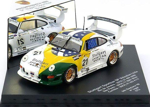 SCARCE VITESSE PORSCHE 911 993 GT2 STUTTGART SPORTSCAR BRASIL 1 43 LTD EDT