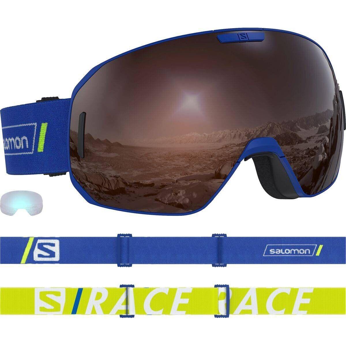 Salomon S Max Race Skibrille blau