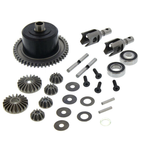 Diff Outdirves Case Mugen MBX8Te 4WD 1//8: Center Differential 46T Spur Gear