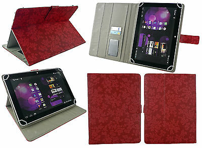 Universal Multi Angle Wallet Case Cover for 9.7 and 10 inch Tablet and Stylus