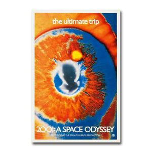 2001-A-SPACE-ODYSSEY-Movie-Art-Silk-Canvas-Poster-13x20-24x36-inch