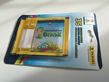 Panini WM WC Brazil 2014 Sealed Blister Pack - No Barcode