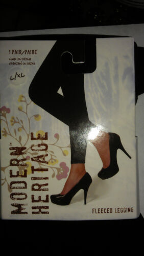 Modern Heritage Fleece TIGHTS FOOTLESS Warm Soft Comfortable L//XL NWT MSRP $16