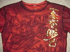 Affliction RO CHI SHIN Dri Fit COMPRESSION Fit GSP Shirt XL MMA New!