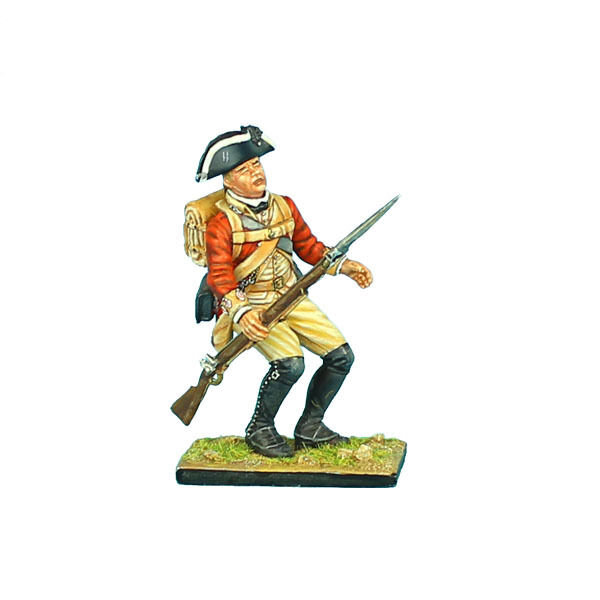 AWI054 British 22nd Foot Falling Wounded by First Legion