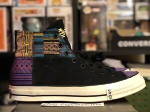 Converse-Chuck-70-Hi-Sz-10-5-BHM-Black-History-Month-165556C-Egret-Yellow-Taylor