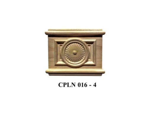 Colonial Solid Hardwood Molding Coupling blocks