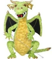 Green Enchanted Dragon Puppet By The Puppet Company