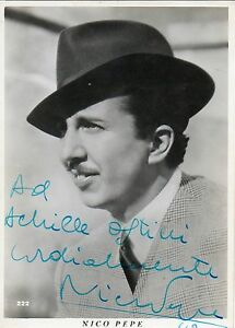 Nico-Pepper-Actor-Postcard-Photo-with-Inscription-Signed-Photo-Signed