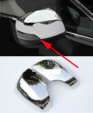 Chrome Side Mirror Cover trim for 2012-2016 Subaru XV Light With Smart Hole