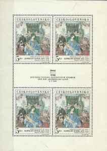 Timbres-Arts-Tableaux-Durer-Tchecoslovaquie-F1653-lot-24001-cote-40