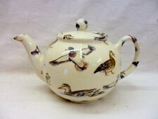 Ducks design 2 cup teapot by Heron Cross Pottery