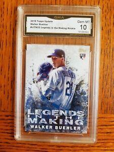 walker buehler 2018 topps update Legends In The Making GMA 10 Dodgers