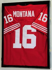 Large Sports Jersey Shadow Box Wall Display Case Rack - Jersey Frame ... cd487e4e0