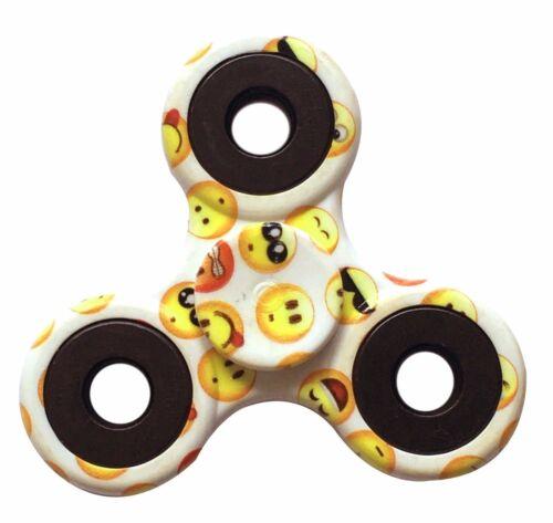 Emoji EDIZIONE Fidget Toy a mano dito Spinner EDC scrivania FOCUS ADHD UK-Confezione da 5