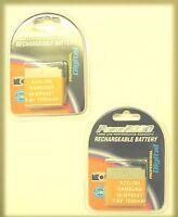 Two 2x Ia-bp-85st Ia-bp85st Ia-bp85nf Batteries For Samsung Hmx-h100 H104 H106