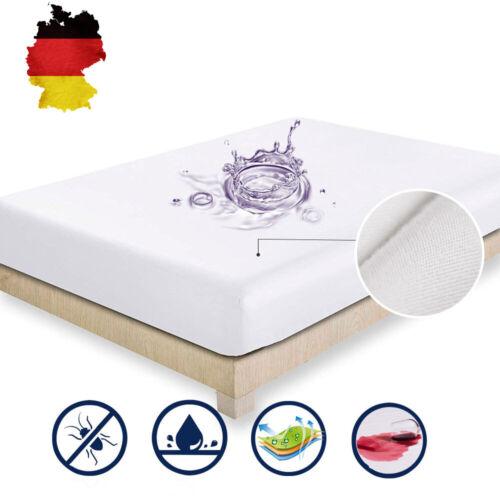 Matratzenschoner Matratzenauflage Matratzenschutz Wasserfeste Betteinlage