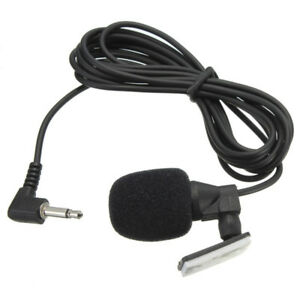 Clip-3-5mm-Microphone-External-Mic-For-Car-Stereo-GPS-bluetooth-Pro-Audio-DVD