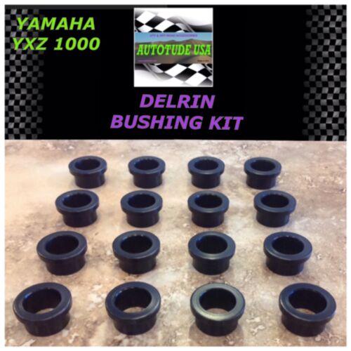 DELRIN Yamaha YXZ 1000 NEW Front Control Arm Bushing Bushings SUPERIOR to OEM!