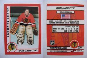 2015-SCA-Bob-Janecyk-Chicago-Blackhawks-goalie-never-issued-produced-d-10-rare