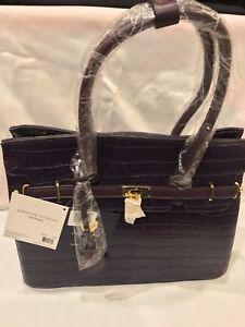 Adrienne Mit Avh Preis Vittadini Umbauten Satchel 2353 Purple 189 Einzelhandel Neu Handtasche FHS4q