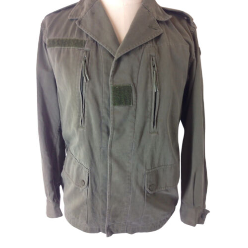 Khaki Vintage Cotton Olive Bomber Unisex autentico Combat Military Jacket F2 Army ZypwqYzwT