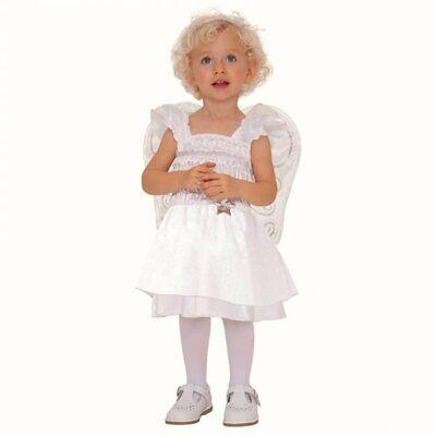 Angel Costume Vestito 1 - 2 Anni 12-24 Mesi Baby Toddler Costume-mostra Il Titolo Originale Ufficiale 2019