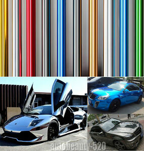 Colorful-New-Car-Glossy-Mirror-Chrome-Vinyl-Wrap-Decal-Film-Sticker-Sheet-ABC