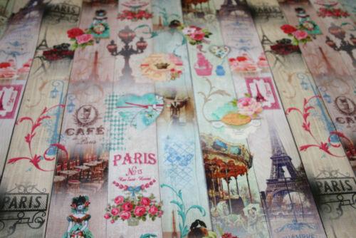Decoración de toalla sustancia trazos pastel romántico flores parís 1m