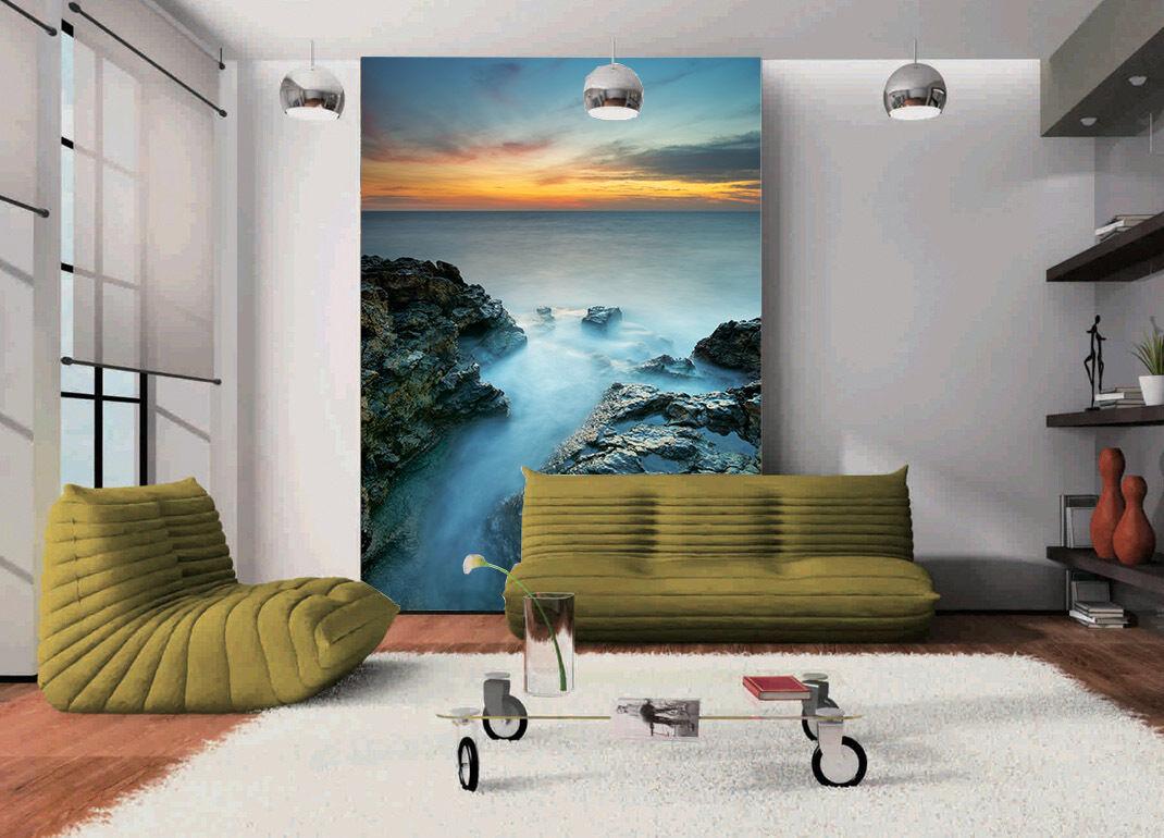 3D Stone ocean water 3061 Paper Wall Print Decal Wall Wall Mural AJ WALLPAPER GB