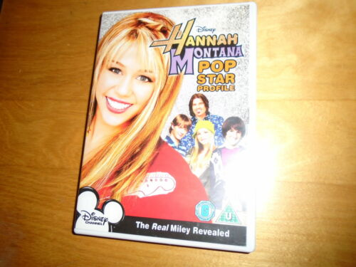 1 of 1 - Disney HANNAH MONTANA POP STAR PROFILE DVD, cert U, very good condition