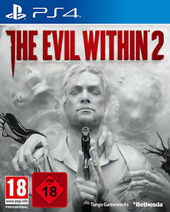 PS4 Spiel The Evil Within 2 100% Uncut + Bonus Inhalt NEU&OVP Playstation 4