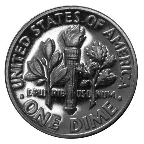 1956 Roosevelt Dime Proof 90/% Silver Gem Brilliant US Coin