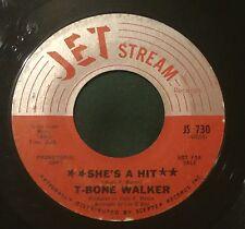 T-BONE WALKER She's A Hit/T-Bone's Back 45 Jet Stream