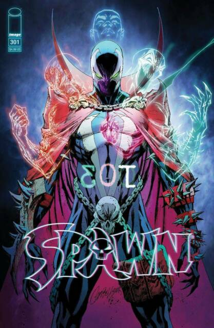 Spawn #301 Cover O Campbell Variant Image Comic 1st Print 2019 NM