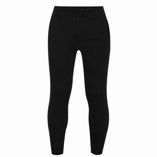 Fabric Embroidered Tapered Jogging Bottoms Mens Gents Fleece Trousers Pants