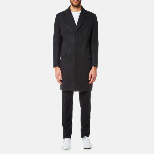 Matthew Miller Crombie Graphic Durden Coat Größe M IT48 100% Wool Made in London