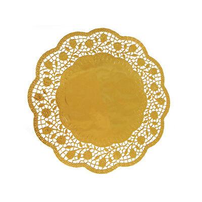 Tortenspitzen Tortenunterlagen gold Torten Kuchen Deko verschiedene Ø (6546All)