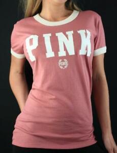 Victorias..Secret Pink Ringer Short Sleeve T Shirt