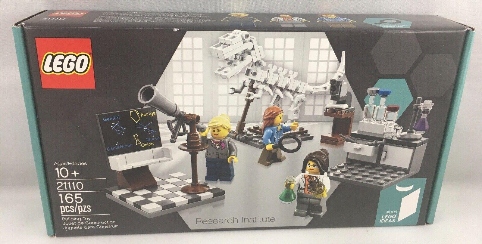 LEGO Research Institute 21110 IDEAS #008 paleontologist astronomer chemist