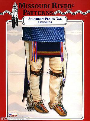 Missouri River American Indian Southern Plains Tab Leggings Sewing Pattern