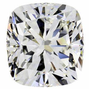 Details About 3 01 Carat Cushion Cut Diamond Gia Certificate H Color Vs1 Clarity Loose