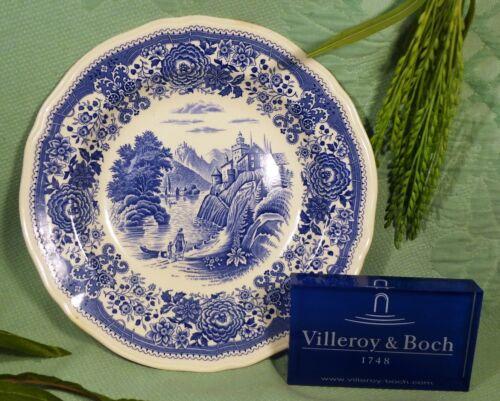 Burgenland blau 1 Suppenteller   schwarzer Stempel
