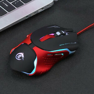 Cool-Hot-6D-LED-Optical-USB-Wired-3200-DPI-Pro-Gaming-Mouse-For-Laptop-PC-GameWU