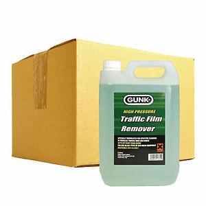 gunk traffic film remover tfr car wash  caustic degreaser cleaner   ebay